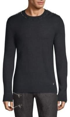 Versace Maglia Uomo Spikes Sweater
