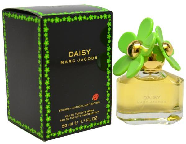 Marc Jacobs 'Daisy Sticker Autocollant Edition' Women's 1.7-ounce Eau de Toilette Spray