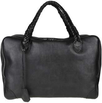Golden Goose Hand Bag equipage Bag M / M In Black Leather