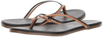 TKEES Flip-Flop-Duos Women's Toe Open Shoes