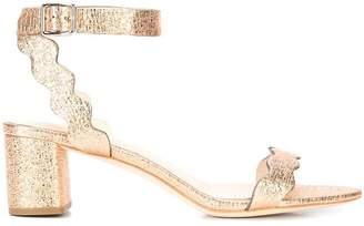Loeffler Randall Emi scalloped edge sandals