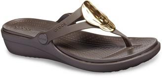 cbec7291a4c5 Crocs Foam Footbed Women s Sandals - ShopStyle