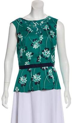 Draper James Printed Sleeveless Top
