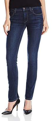 James Jeans Women's High Rise Straight Leg Jeans