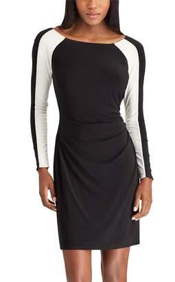 Chaps Women's Colorblock Sheath Dress