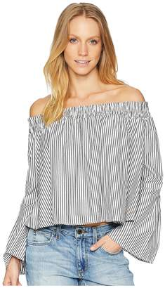 Bebe Off-the-Shoulder Bell Sleeve Women's Clothing
