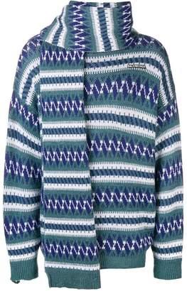 Balenciaga fairisle jumper