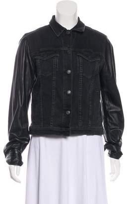Rag & Bone Denim Button-Up Jacket