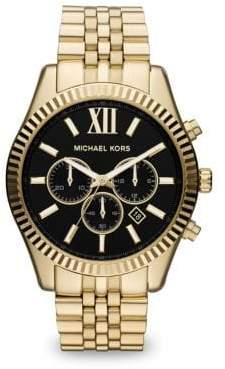 Lexington Chronograph Goldtone Bracelet Watch