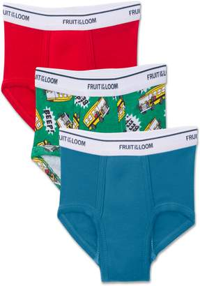 Fruit of the Loom Potty Training Pants, 3 Pack (Toddler Boy)