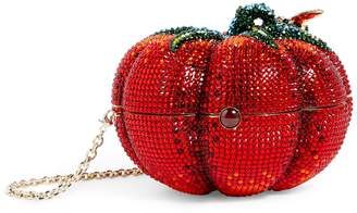 Judith Leiber Crystal Tomato Clutch Bag