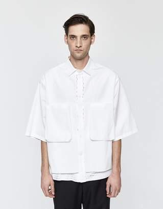 Oamc Vent Button Up Shirt