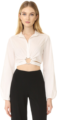 Cinq a Sept Trillian Top $275 thestylecure.com