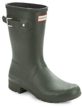 Hunter Tour Packable Short Rubber Rain Boots