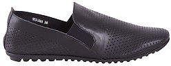 Django & Juliette NEW Womens Flats Bescara Leather Flat Black - Shoes
