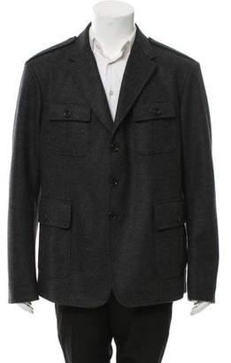 Gucci Wool Notch-Lapel Jacket w/ Tags