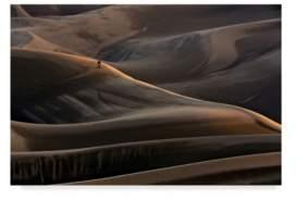 "Momeni Trademark Global Mohammadreza 'Walk After Raining' Canvas Art - 32"" x 2"" x 22"""