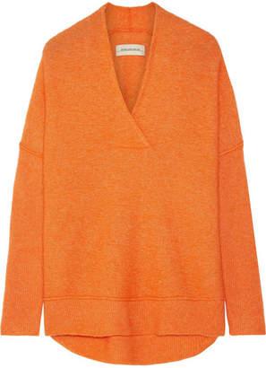 By Malene Birger Zonia Knitted Sweater - Bright orange