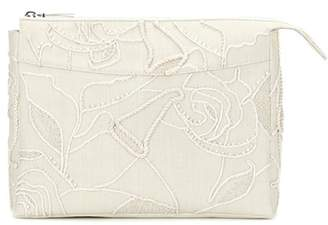 The Row Two For One 12 embellished canvas clutch
