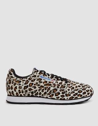 """Reebok CL Leather """"Head Porter"""" Leopard"""