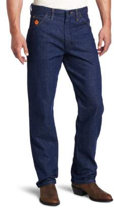Wrangler Men's Big Flame Resistant Relaxed Fit Jean