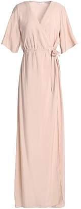 Dagmar House Of Printed Jersey Maxi Wrap Dress