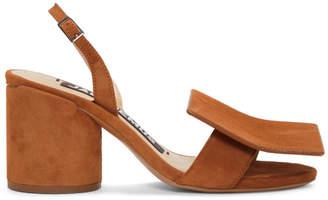 Jacquemus Tan Les Rond Carre Sandals
