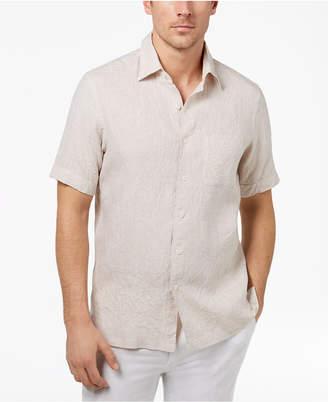 Tasso Elba Men's Island Linen Shirt