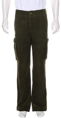 Polo Ralph Lauren Suede Cargo Pants