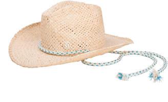 00acc30e3eb Austin Raffia Cowboy Hat