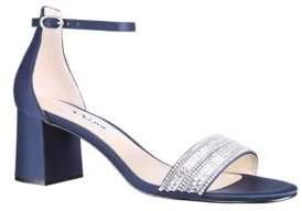 Nina Elenora Embellished Cutout Sandals