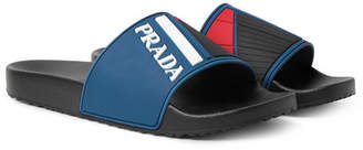 Prada Rubber Slides