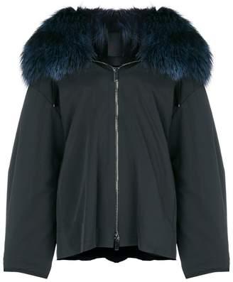 Liska fur hooded coat