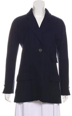Chanel Tweed Notch-Lapel Jacket