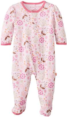 Magnificent Baby Girls Newborn Footie, Mod Floral