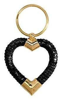 Whiting & Davis Classic Heart Key Ring