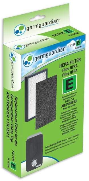 Guardian Technologies GermGuardian FLT4100 Filter E True HEPA Replacement