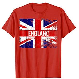 Union Jack Distressed England British Flag T-Shirt