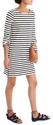Women's J.crew Stripe T-Shirt Dress $78 thestylecure.com