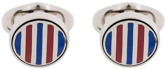 Etro striped cufflinks