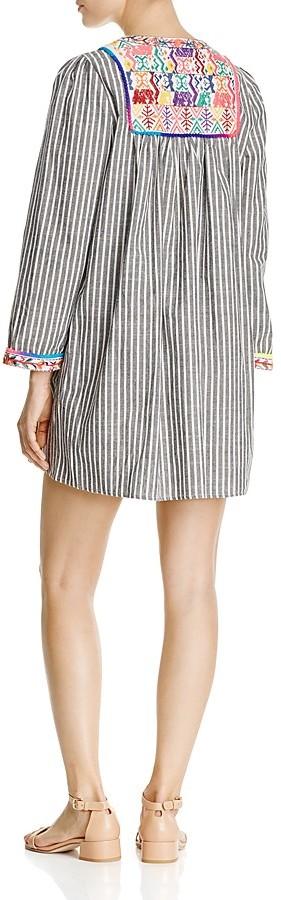 Velzera Embroidered Tunic Dress 2