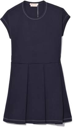 Marni Sleeveless Knit Dress in Blublack