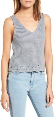 Cotton Emporium Crop Sweater Tank