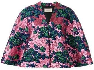 Gucci floral brocade jacket