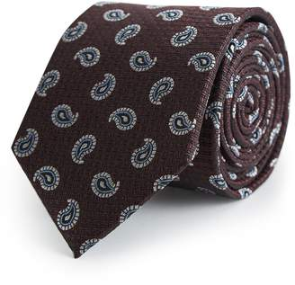 Reiss Mitchell Paisley Silk Tie