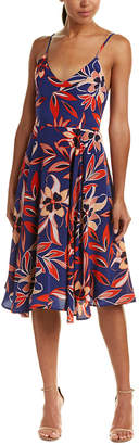 Yumi Kim Silk A-Line Dress