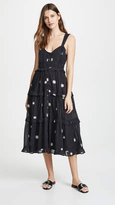 89a4a29ef3e50 Free People Black Combo Dress - ShopStyle