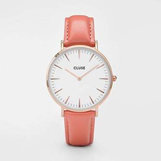 Cluse Women's Analogue Quartz Watch with Leather Strap CL18032