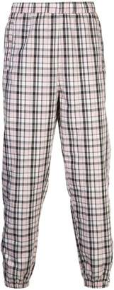 Opening Ceremony plaid track pants