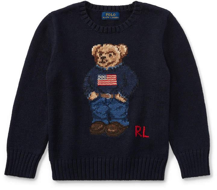 Bear Cotton Sweater